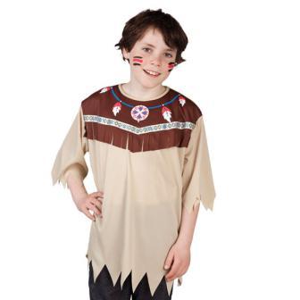"""Costume pour enfant """"Haut d'Indien"""""""