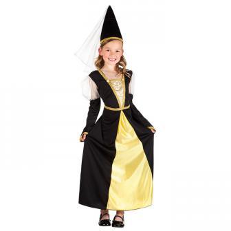 """Costume pour enfant """"Fille de la noblesse"""" 2 pcs."""