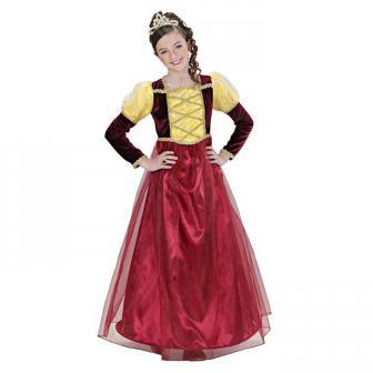 """Costume pour enfant """"Princesse du Moyen-Âge"""" 2 pcs."""