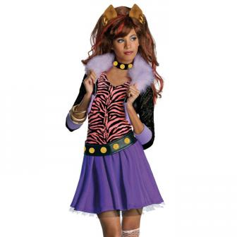 "Costume pour enfant Monster-High ""Clawdeen Wolf"" 4 pcs."