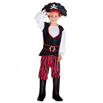 """Costume pour enfant """"Tom, Capitaine des pirates"""" 4 pcs."""