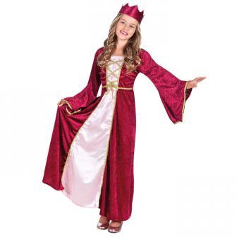 """Costume pour enfant """"Renaissance Queen"""" 2 pcs."""