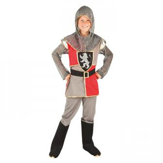 """Costume pour enfant """"Chevalier vaillant"""" 4 pcs."""