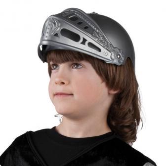 Casque de chevalier avec visière pour enfant