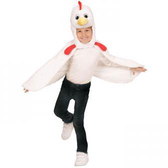 """Costume pour enfant """"Cape de poule"""""""
