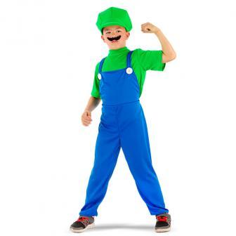 """Costume pour enfant """"Luigi le plombier"""" 3 pcs."""