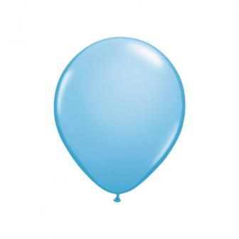 20 petits ballons de baudruche 13 cm - bleu clair