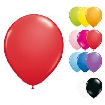 20 petits ballons de baudruche 13 cm