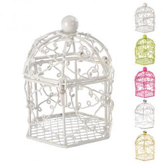 2 petites cages à oiseaux