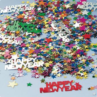 "Confettis ""Happy New Year"" 15 g"
