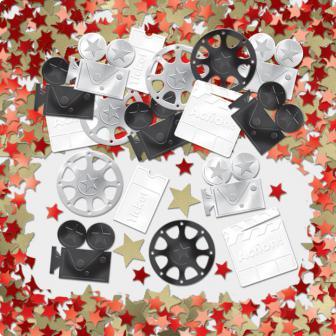 "Confettis ""Symboles Hollywood"" 14 g"