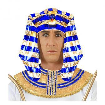 """Coiffe """"Pharaon égyptien"""""""