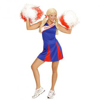 "Costume ""Cheerleader"" bleu-rouge"