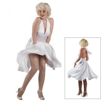 Costume blanc Style Marylin