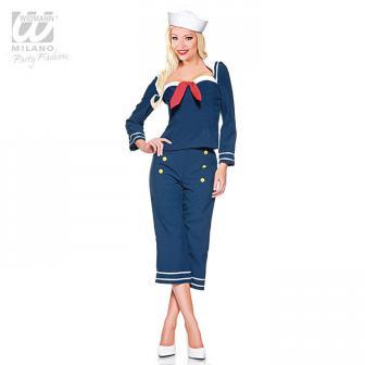 """Costume """"Femme d'équipage"""" 3 pcs."""