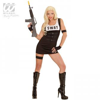 "Costume ""Sexy S.W.A.T. Girl"" 4 pcs."