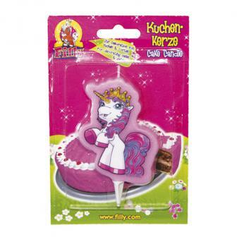 "Bougie pour gâteau ""Filly Fairy"" 9,5 cm"