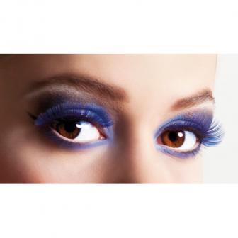 "Faux cils ""Bright Eyes"" - bleu"