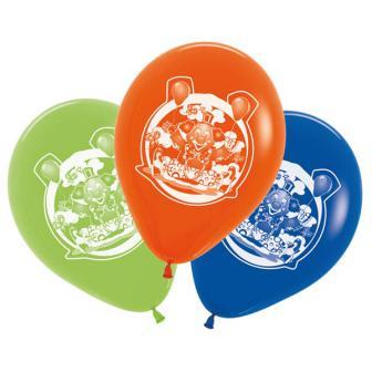 """5 ballons """"Clown rigolo"""""""