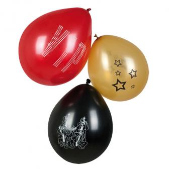 """6 ballons """"VIP"""""""