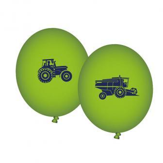 """8 ballons de baudruche """"À la ferme"""""""