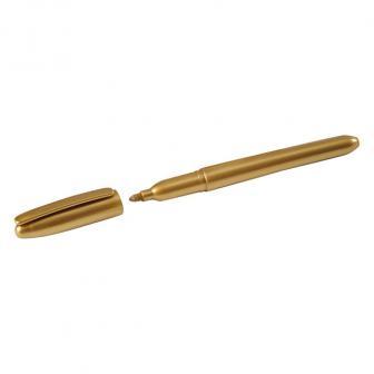 Marqueur métallique - doré
