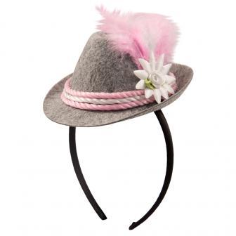 "Mini-chapeau ""Oktoberfest"" avec serre-tête 10 cm"