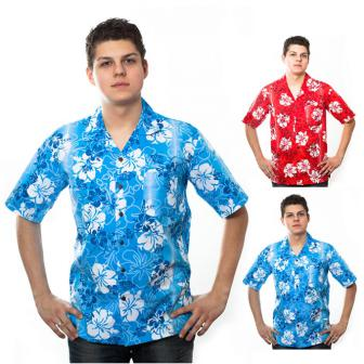 Chemise hawaïenne Pacific Flower