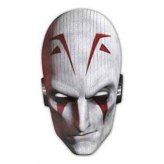 "6 masques en carton ""Star Wars - Rebels"""