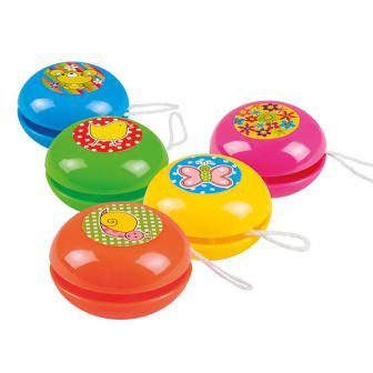 """5 yo-yos """"Couleurs à gogo"""""""