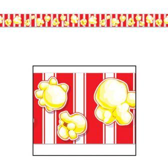 Rouleau de rubalise pop-corn 6 m