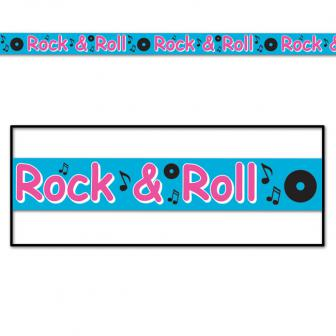 "Rouleau de rubalise ""Rock & Roll"" 6 m"