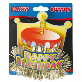 Macaron 3D Happy Birthday 11 cm