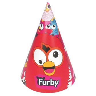 """6 chapeaux pointus """"Furby"""""""