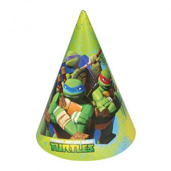 "6 chapeaux pointus ""Tortues Ninja"""