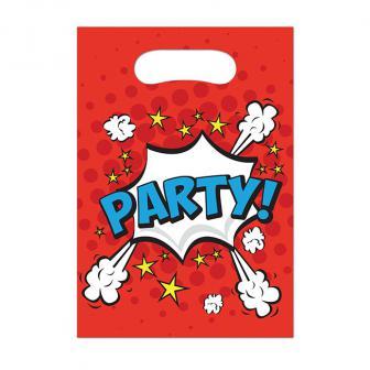 """6 pochettes surprises """"Boom-Party"""""""