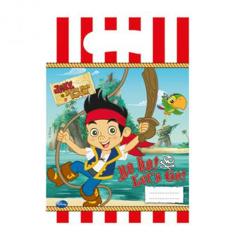 """6 pochettes surprises """"Jake et les pirates du pays imaginaire"""""""