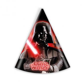 """6 chapeaux de fête """"Classic Star Wars"""""""