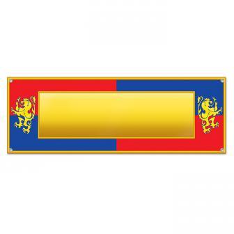 """Bannière """"Chevalier & Co."""" personnalisable 152 cm"""
