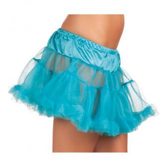"""Mini-jupe """"Explosion de couleur"""" - turquoise"""