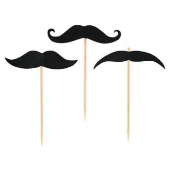 """20 piques """"Jolie moustache"""""""