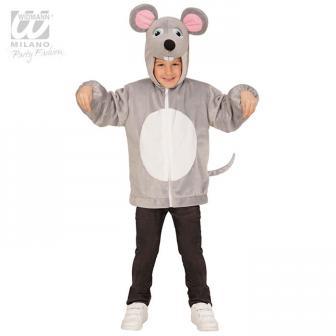 """Veste en peluche pour enfant """"Petite souris"""""""