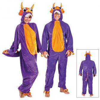 """Costume en peluche """"Drôle de monstre"""""""