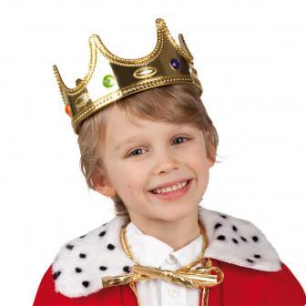 """Splendide couronne dorée """"Petit roi"""""""