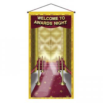 "Déco murale ""Welcome to Awards Night"" 72 x 152 cm"