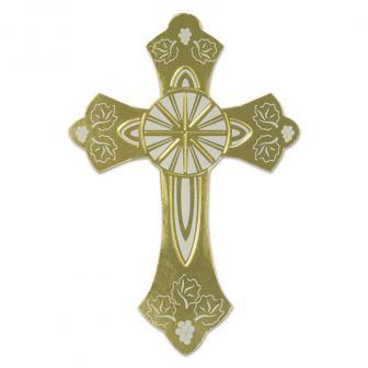 """Déco de salle """"Petite croix"""" 17 cm"""