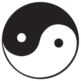 D co de salle yin yang 34 5 cm prix minis sur for Deco yin yang