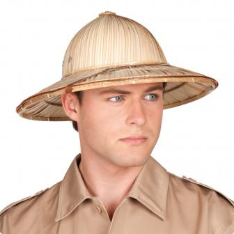 "Chapeau safari ""Casque colonial"""
