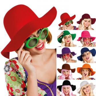 """Chapeau à larges bords """"Chic rétro"""""""