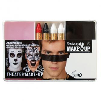 Set de maquillage noir 6 pcs